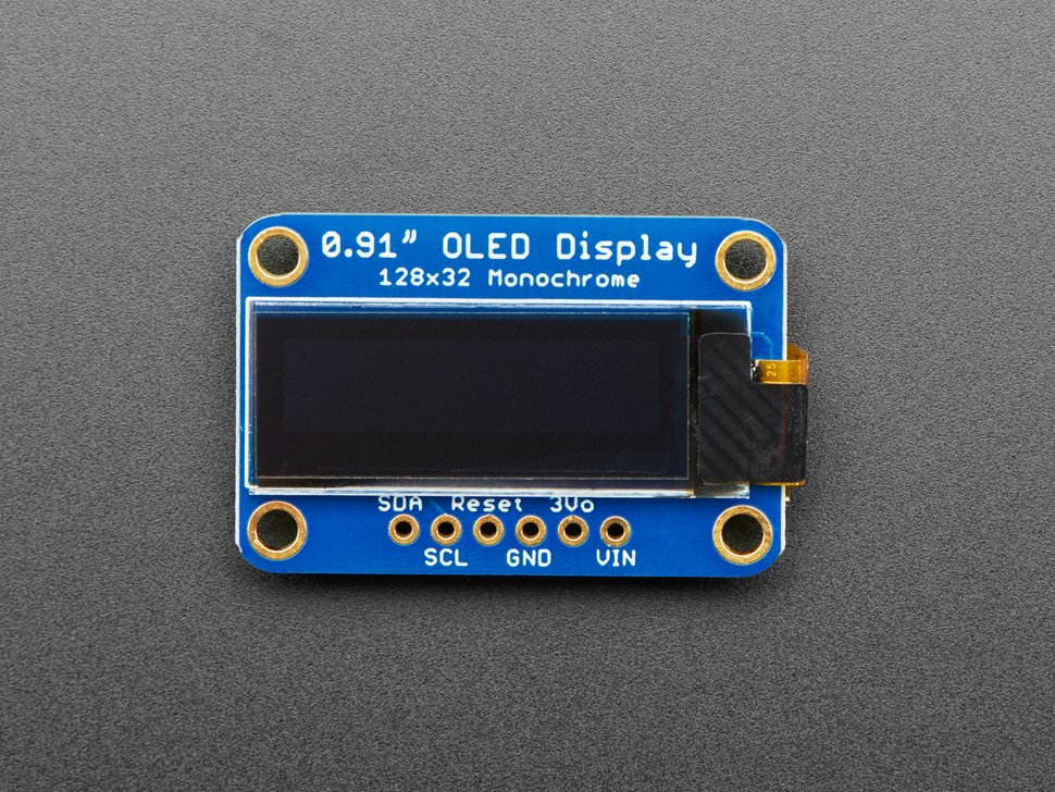 Top down of OLED