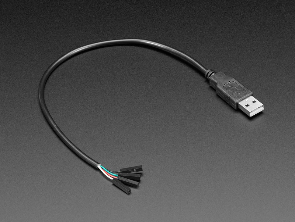 USB Type A Plug Breakout Cable with Premium Female Jumpers - 30cm long