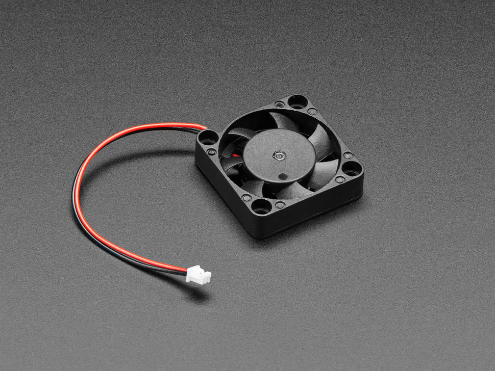 Miniature 5V Cooling Fan with Molex Pico Blade Connector