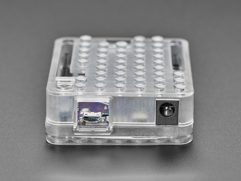 Plastic Translucent Enclosure for Metro or Arduino - LEGO Compatible
