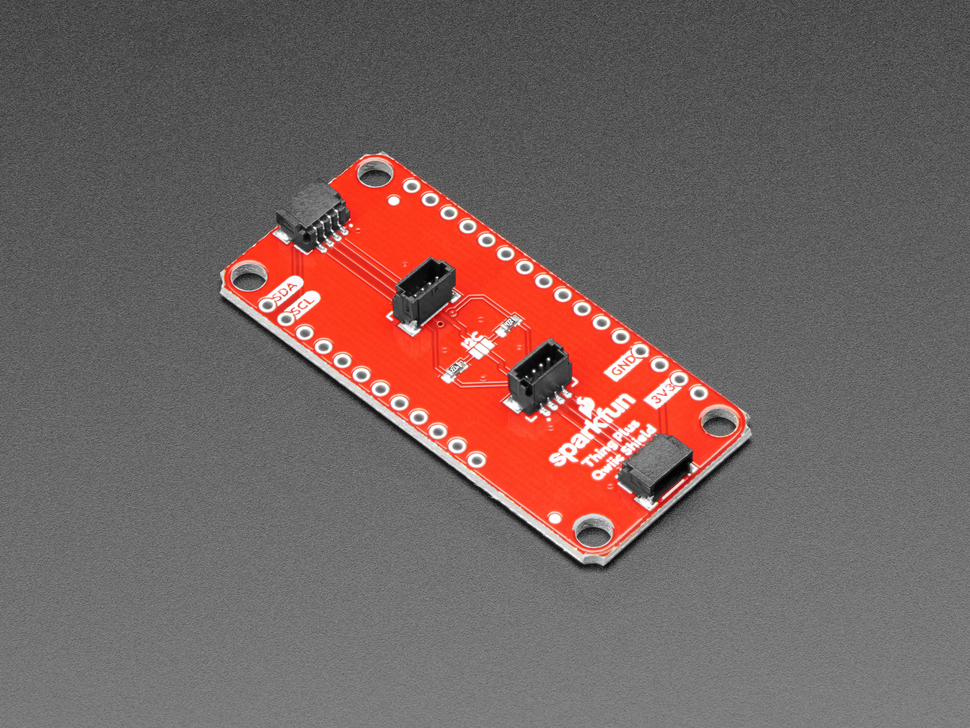 SparkFun Qwiic / Stemma QT FeatherWing (Shield for Thing Plus)