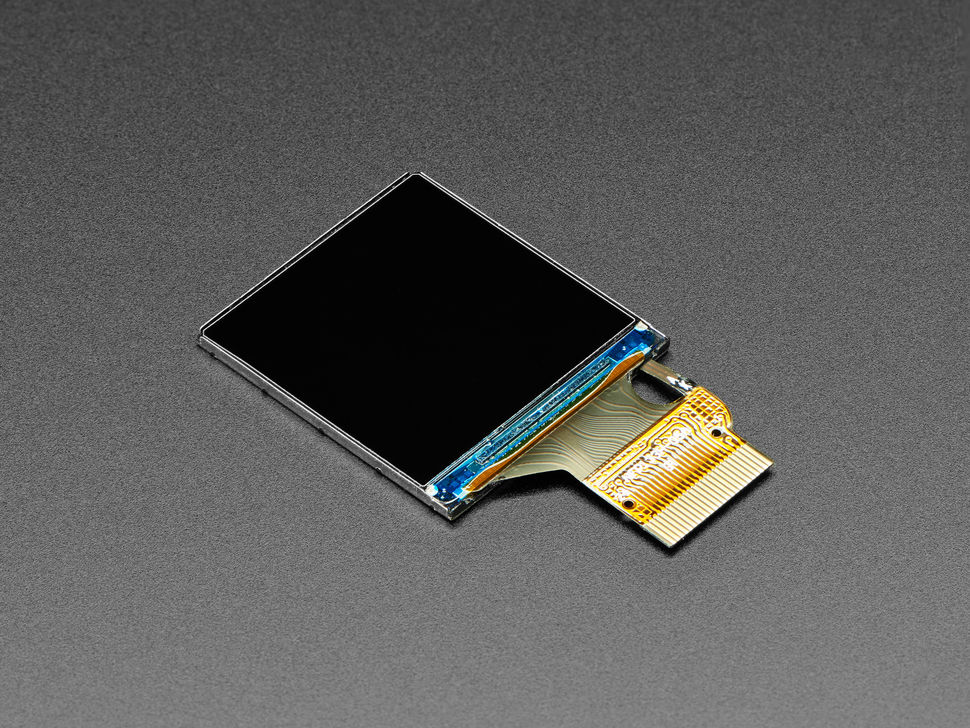 "Adafruit 1.3"" 240x240 Wide Angle IPS TFT Display"