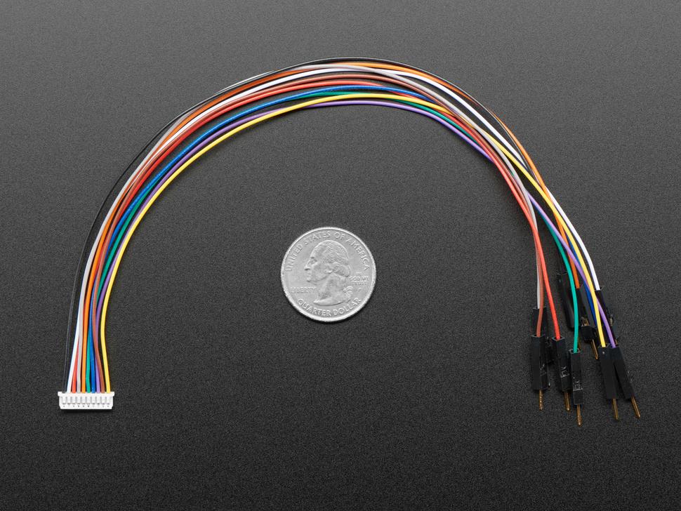 cables next to quarter