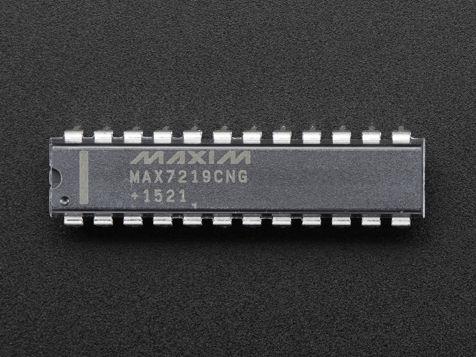 MAX7219CNG LED Matrix/Digit Display Driver - MAX7219