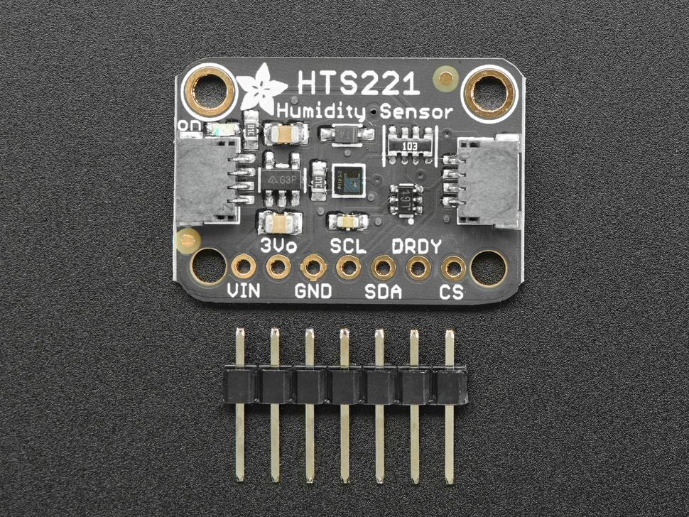 Adafruit HTS221 - Temperature & Humidity Sensor Breakout Board - STEMMA QT / Qwiic