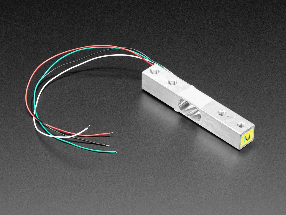 Strain Gauge Load Cell - 4 Wires - 1Kg