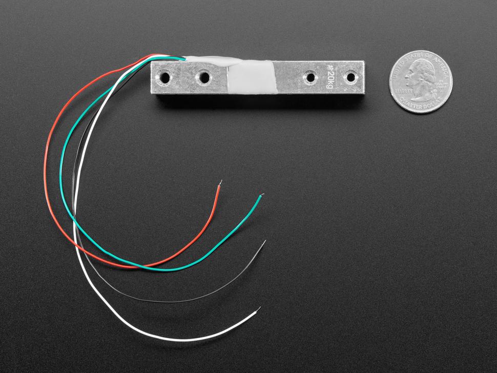 Strain Gauge Load Cell - 4 Wires - 20Kg