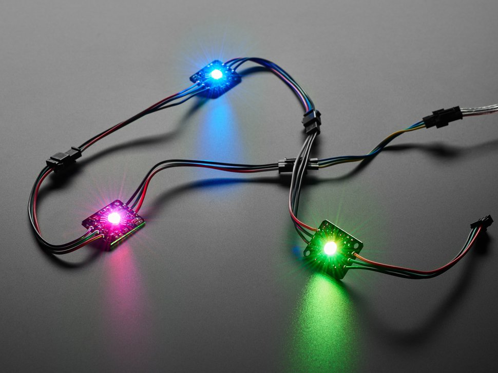 Ultra Bright 3 Watt Chainable NeoPixel LED - WS2811