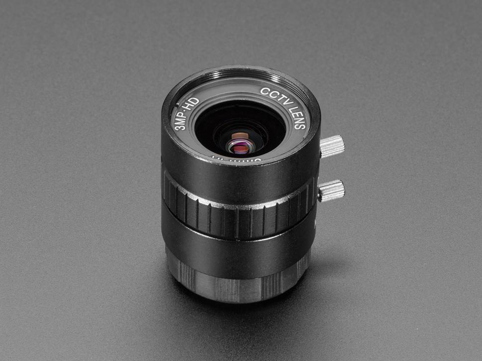 Angle shot of lens