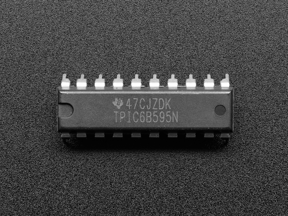 TPIC6B595 High Power Shift Register - TPIC6B595