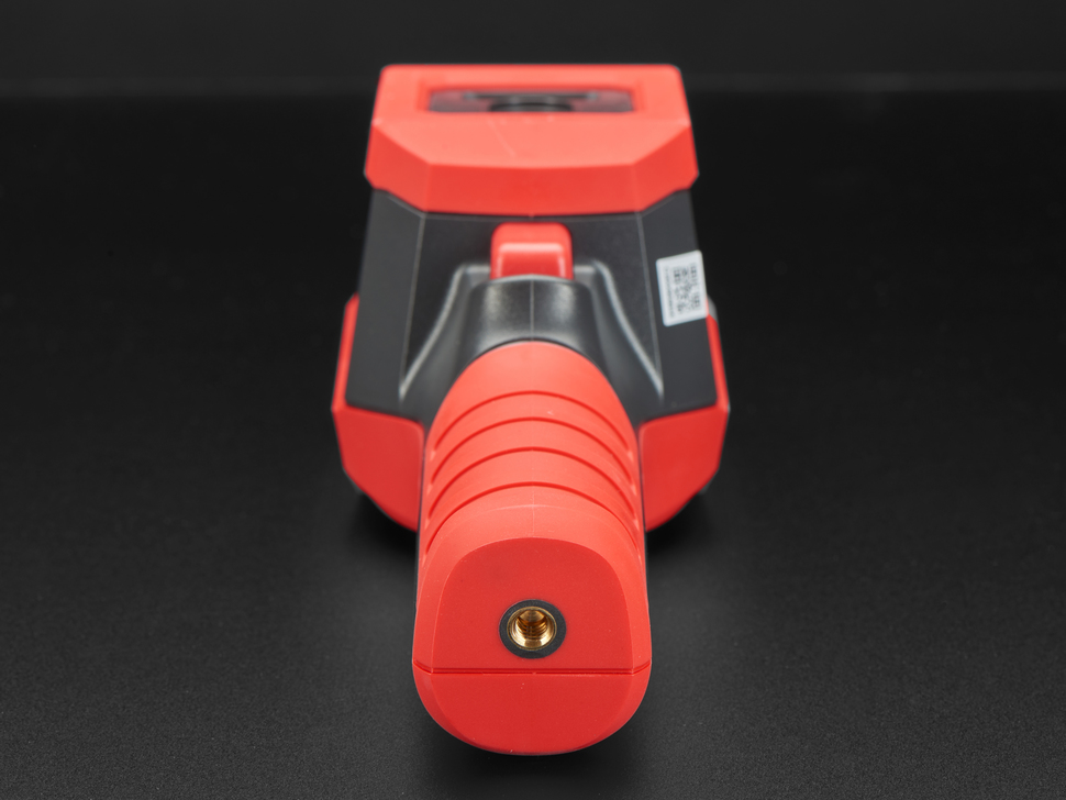 View of the bottom of the thermal camera