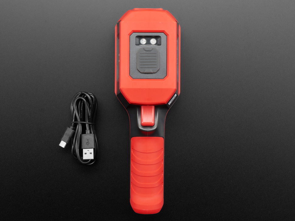 Thermal camera with usb cable