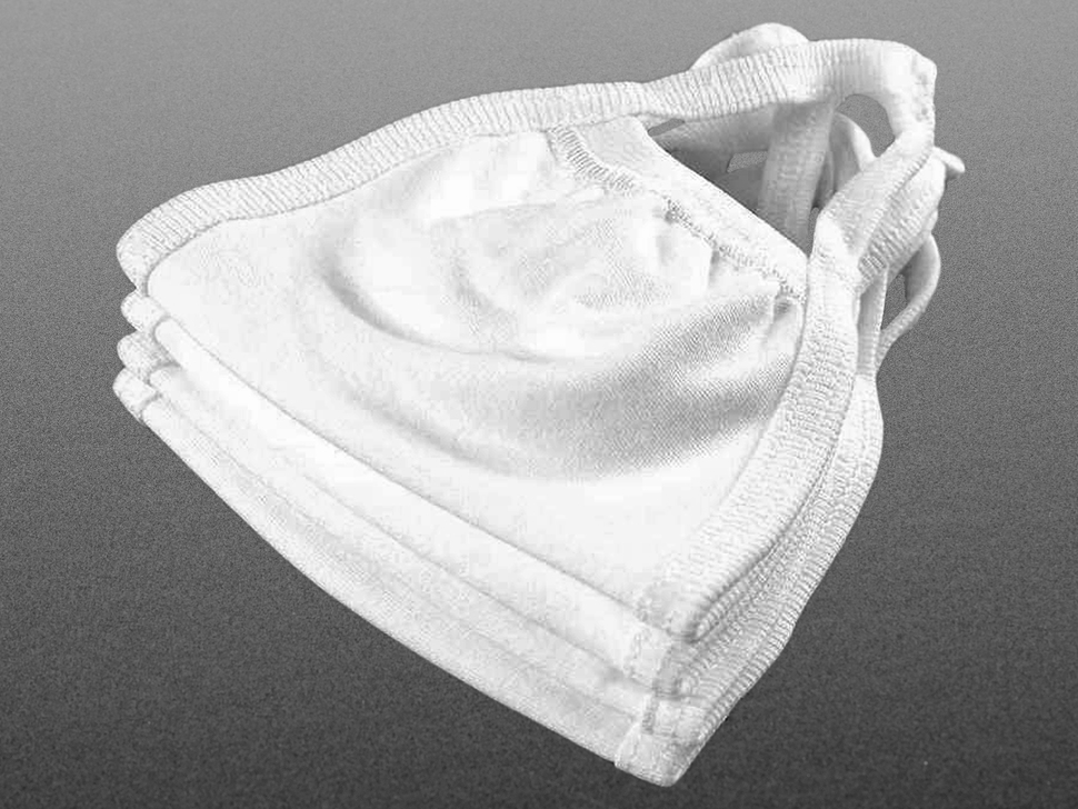 Simple 3-Layer Cotton Masks - Child Size - 20 pack