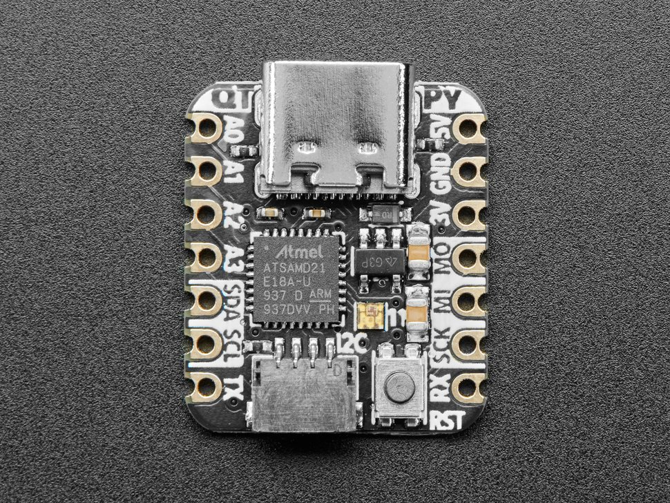 Adafruit QT Py - SAMD21 Dev Board with STEMMA QT