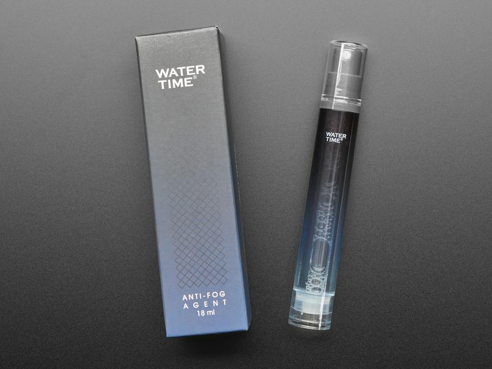 Anti-Fog Spray Bottle for Face Shields, Glasses or Goggles - 18mL