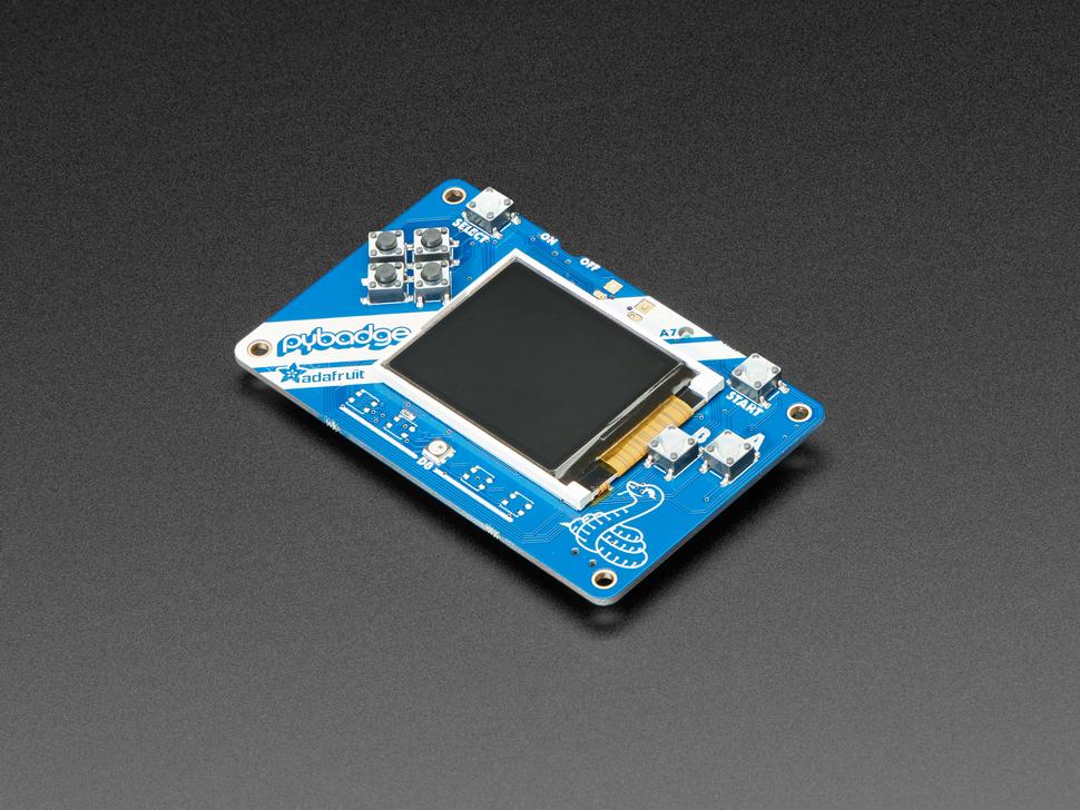 Adafruit PyBadge Low Cost Starter Kit