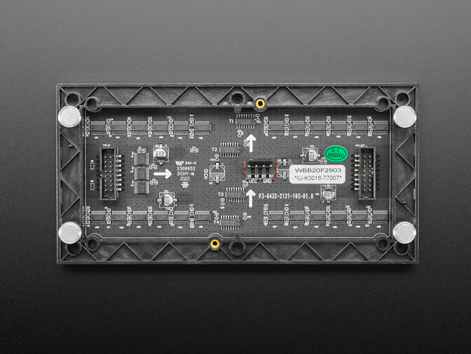 Mini-Magnet Feet for RGB LED Matrices (Pack of 4)