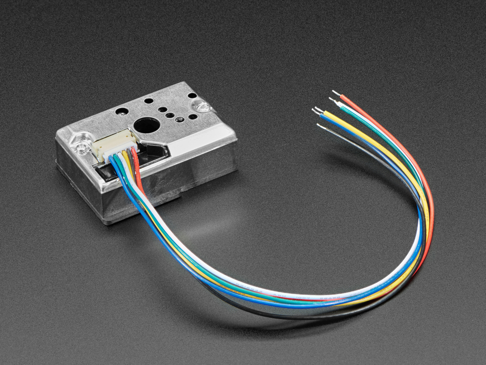 Dust Sensor Module Kit - GP2Y1014AU0F with Cable