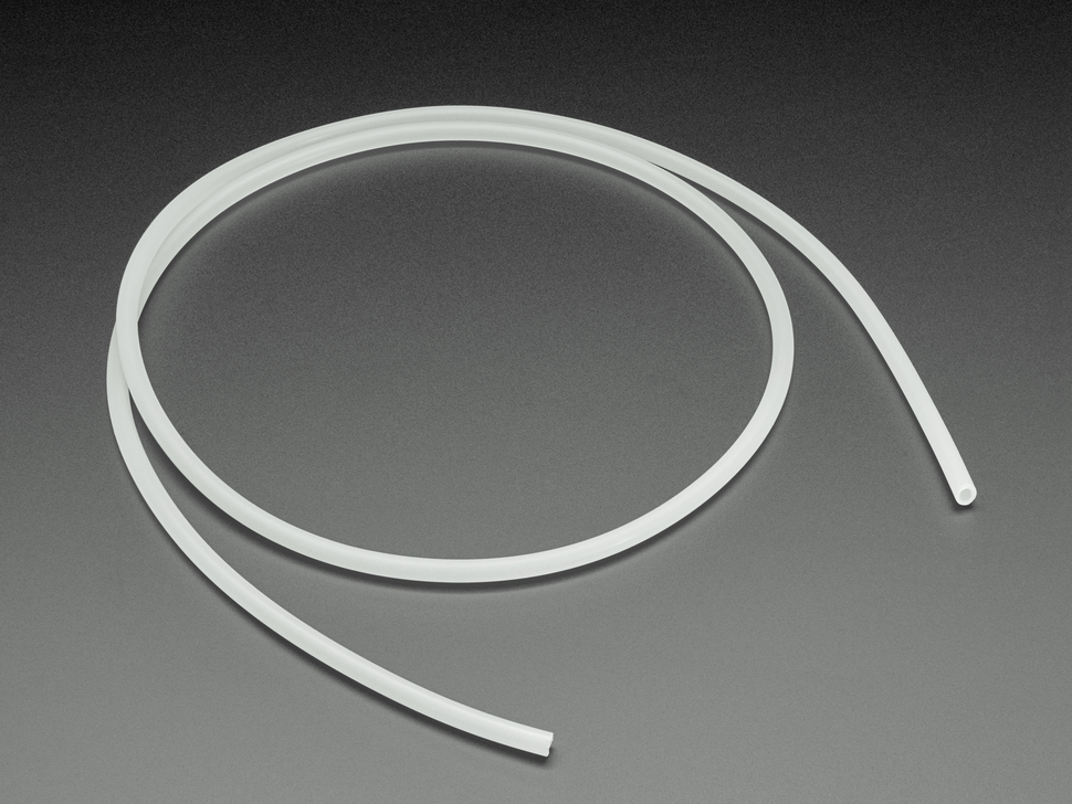 Silicone Tubing for Air Pumps and Valves - 3mm ID - 1 Meter Long