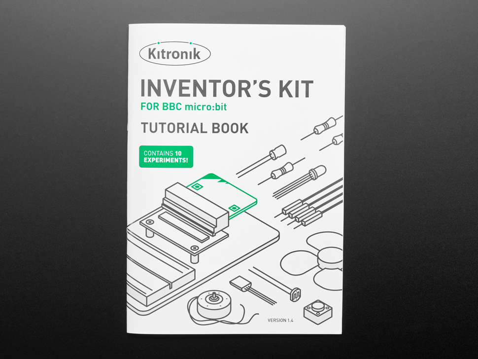 Kitronik Inventor's Kit for the BBC micro:bit - micro:bit Not Included