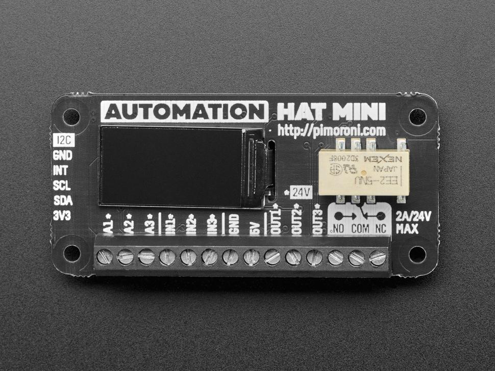 Pimoroni Automation HAT Mini - PIM487