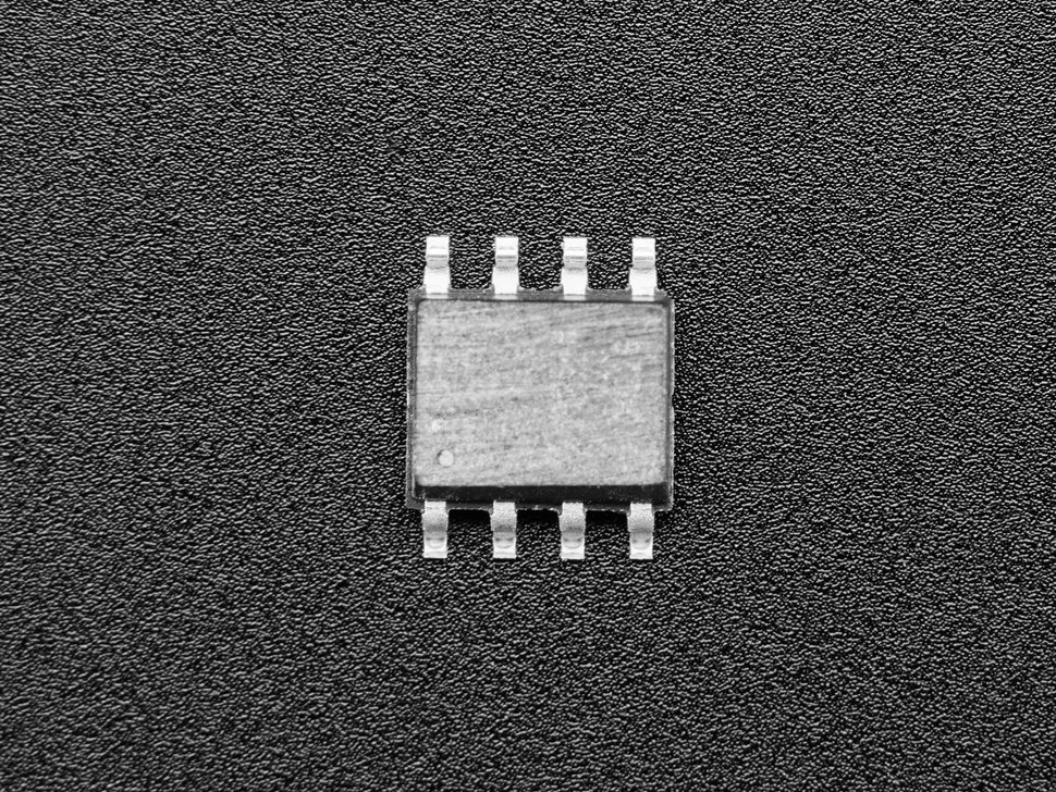 Top of SOIC chip