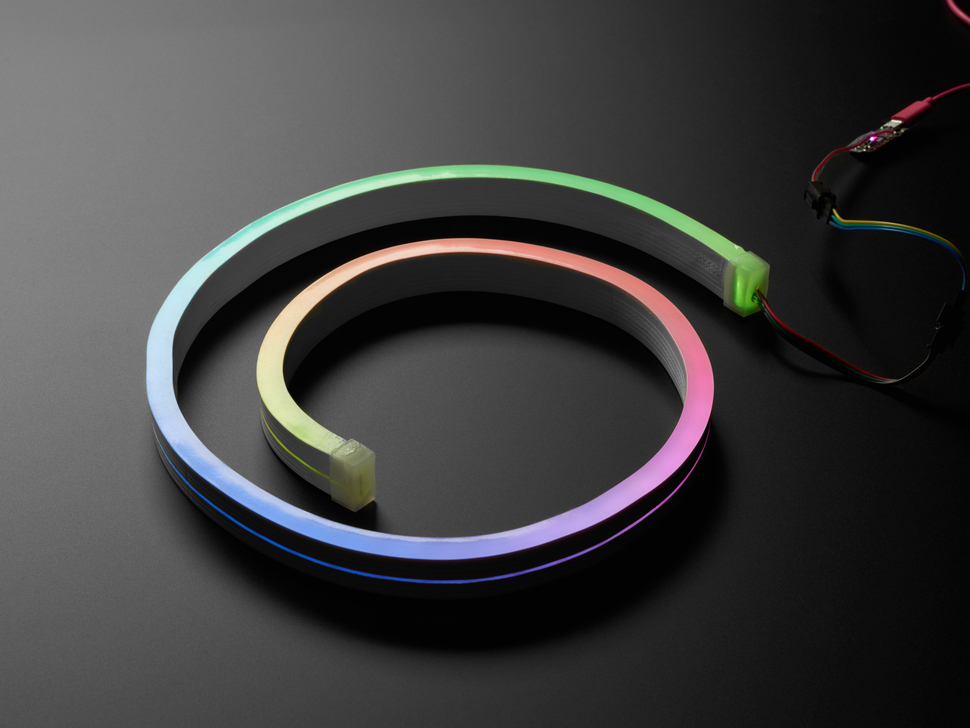 NeoPixel RGBW Neon-like Flex Strip - Cool White 5500K - 1 meter - 5V 60 LEDs/m