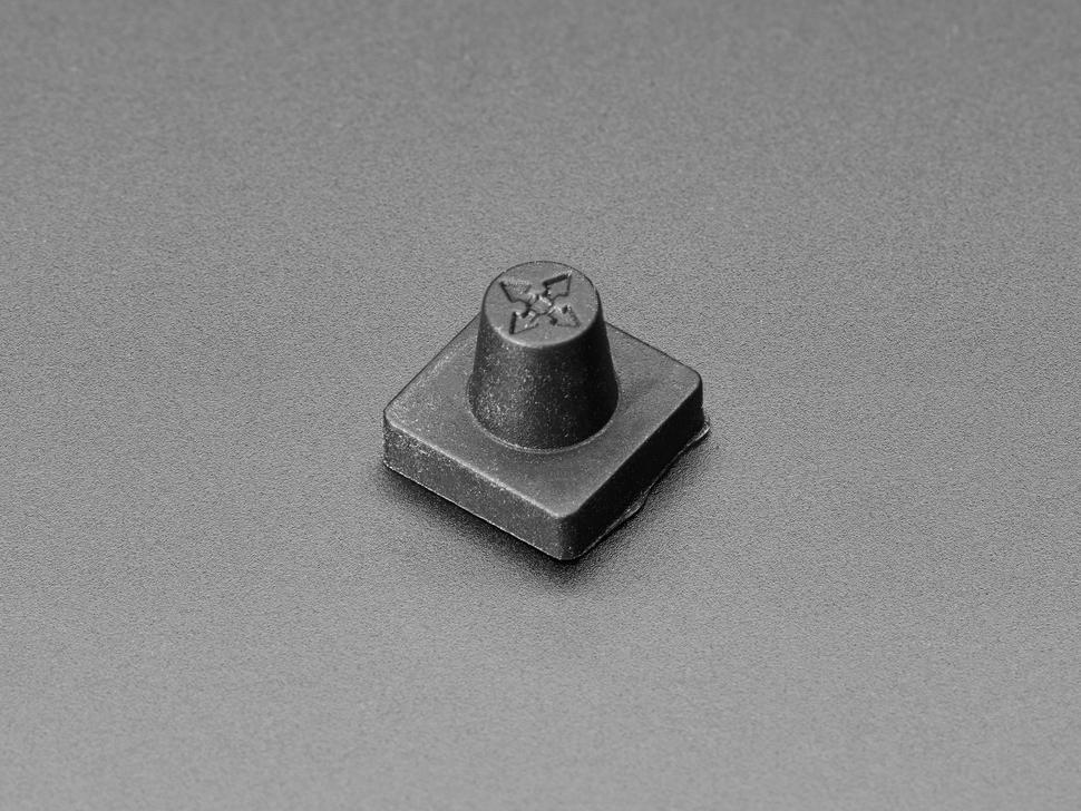 Black Rubber Joystick Nubbin Cap for 5-weay Navigation Joystick
