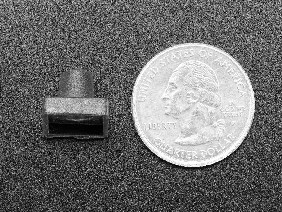 Black Rubber Joystick Nubbin Cap for Navigation Joystick