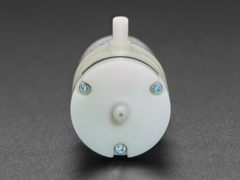 Air Pump and Vacuum DC Motor - 4.5V and 1.8 LPM - ZR320-02PM