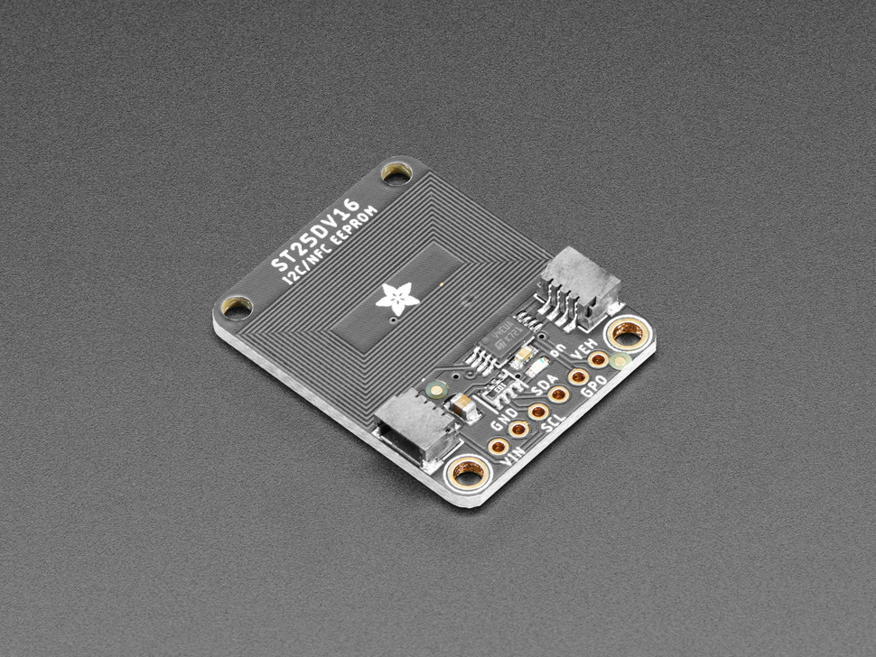 Adafruit ST25DV16K I2C RFID EEPROM Breakout