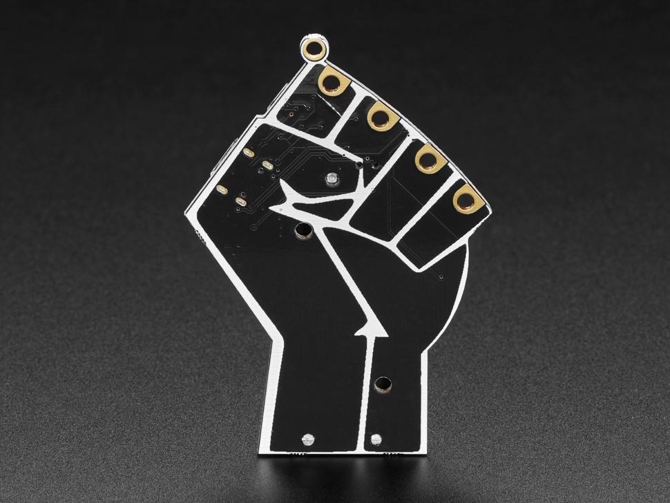 Black Lives Matter electronic badge