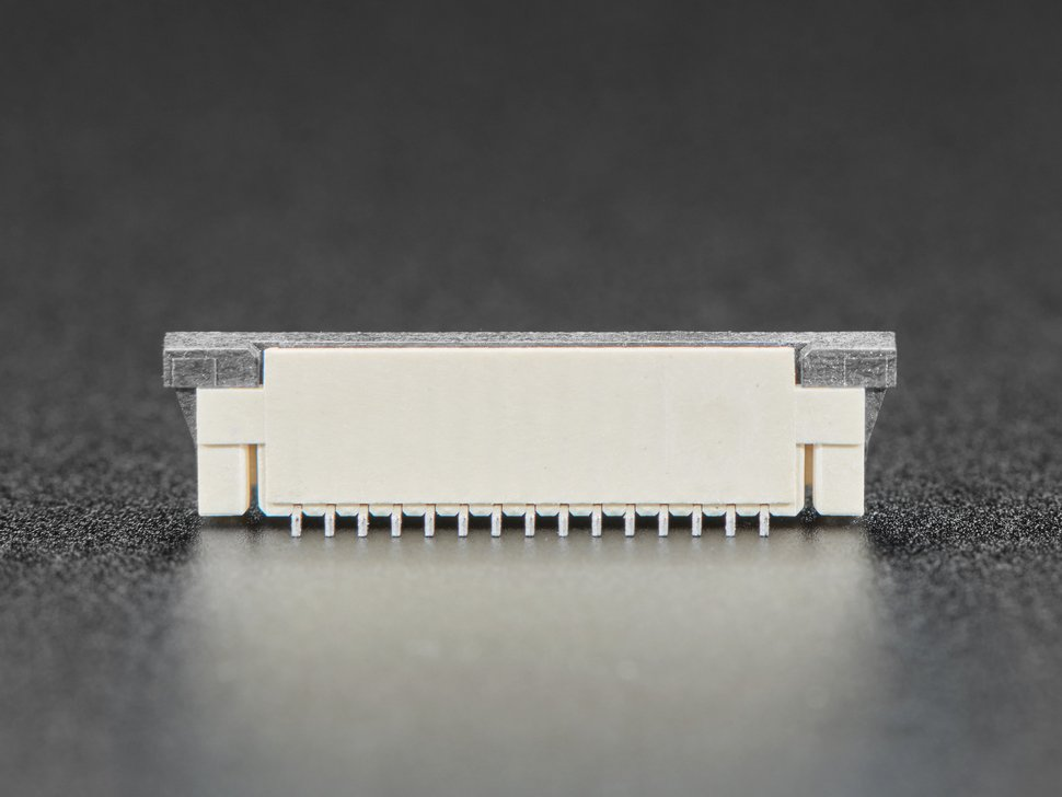 Profile shot of connector
