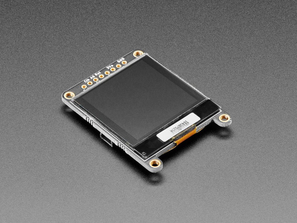 "Adafruit Grayscale 1.5"" 128x128 OLED Graphic Display - STEMMA QT / Qwiic"