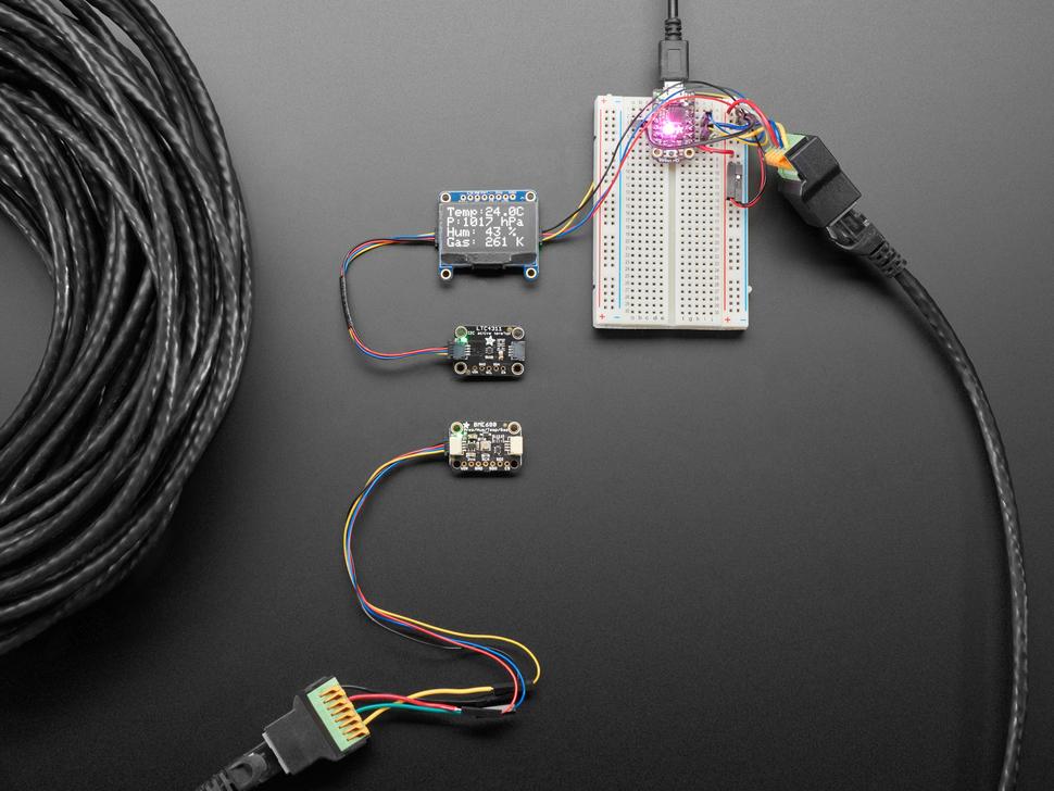 Adafruit LTC4311 I2C Extender / Active Terminator - STEMMA QT / Qwiic