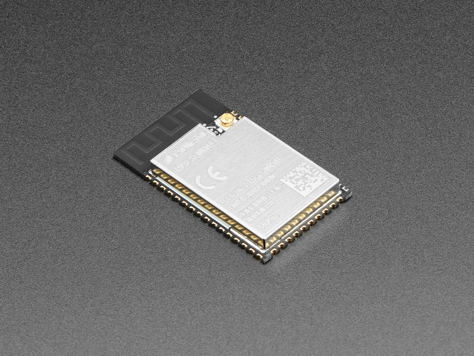 ESP32-S2-WROVER-I Module with uFL - 4 MB flash and 2 MB PSRAM