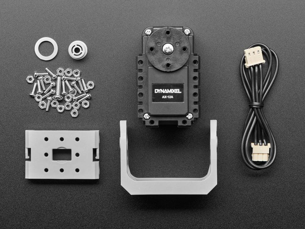 Full motor kit with mounting hardware