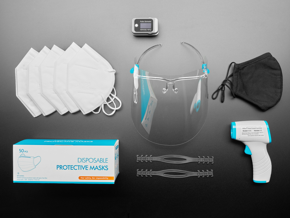 "PPE ""The Works"" Pack - All In One Protective Equipment Kit"