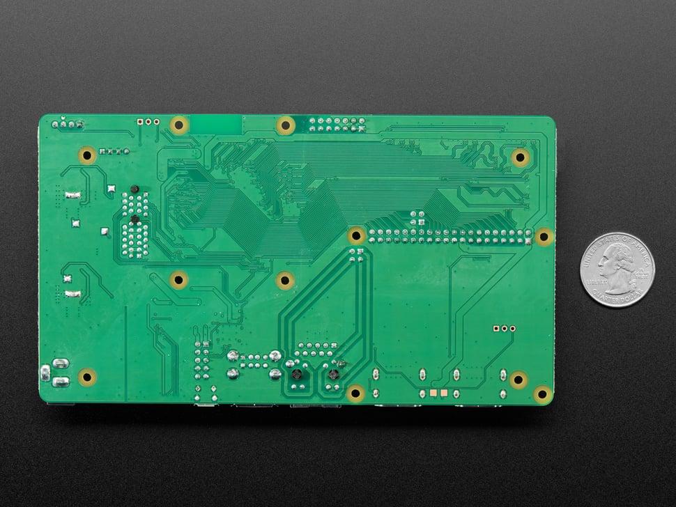 Back Shot of Raspberry Pi Compute Module 4 I/O Board