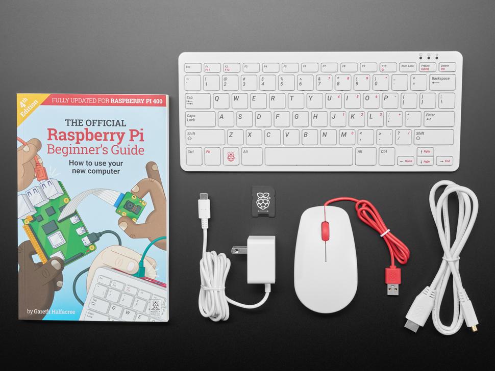 Raspberry Pi 400 Desktop - Full Computer Kit
