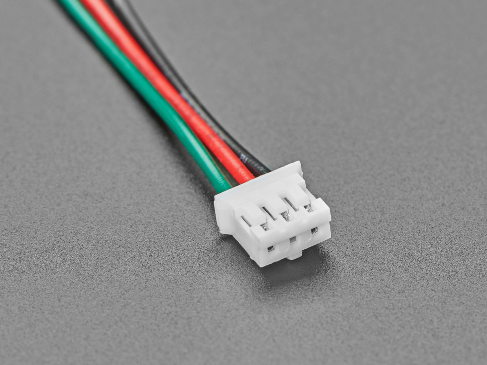 Detail of JST connector