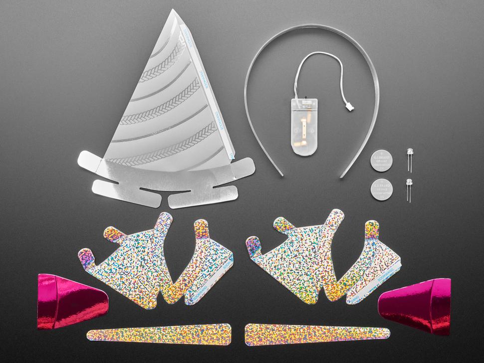 "DIY ""Be a Unicorn"" Light-Up Unicorn Headband Kit"