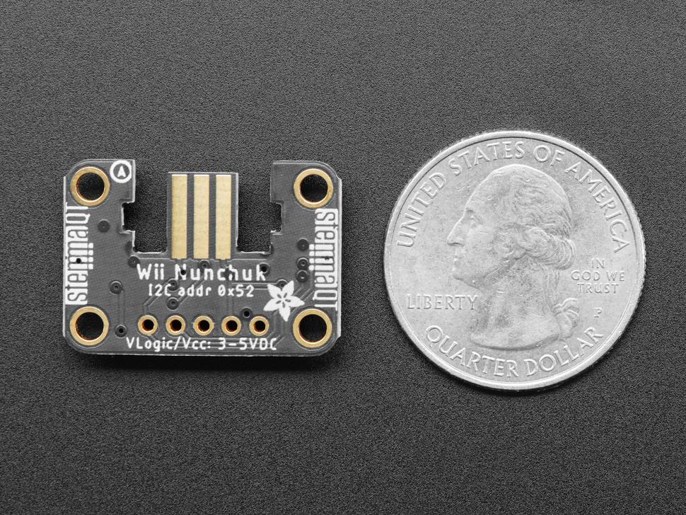 Adafruit Wii Nunchuck Breakout Adapter - Qwiic / STEMMA QT