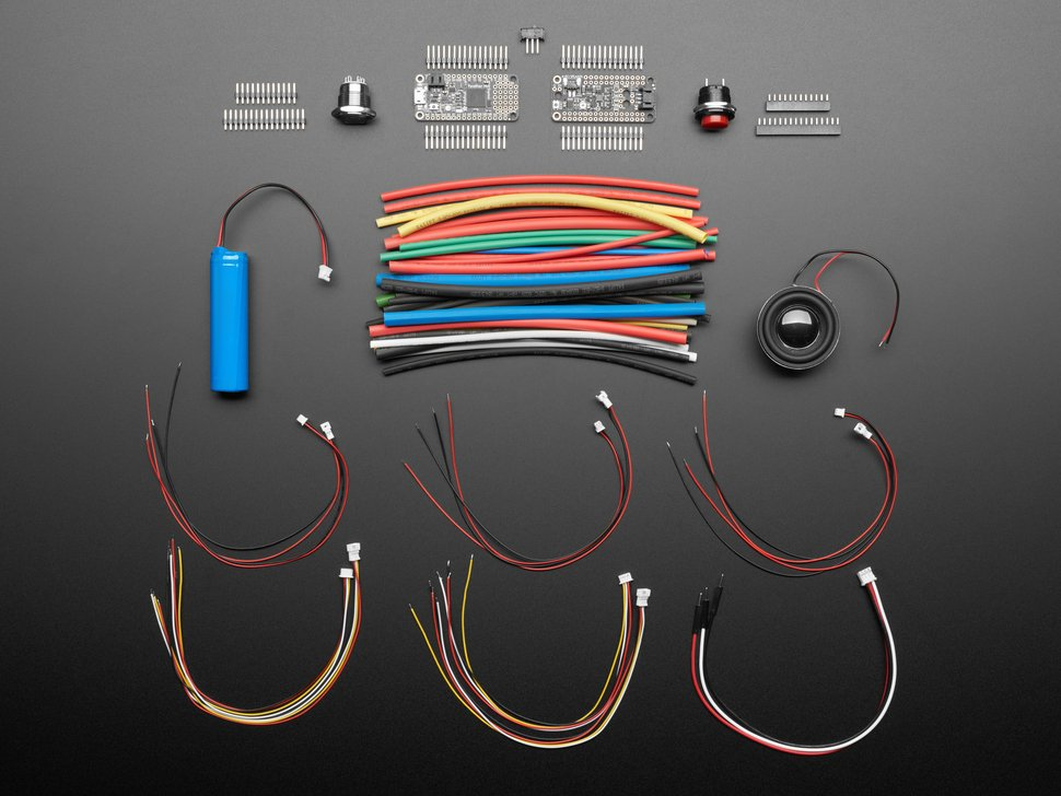 Adafruit Prop-Maker Starter Kit - Make your own Lightsaber!