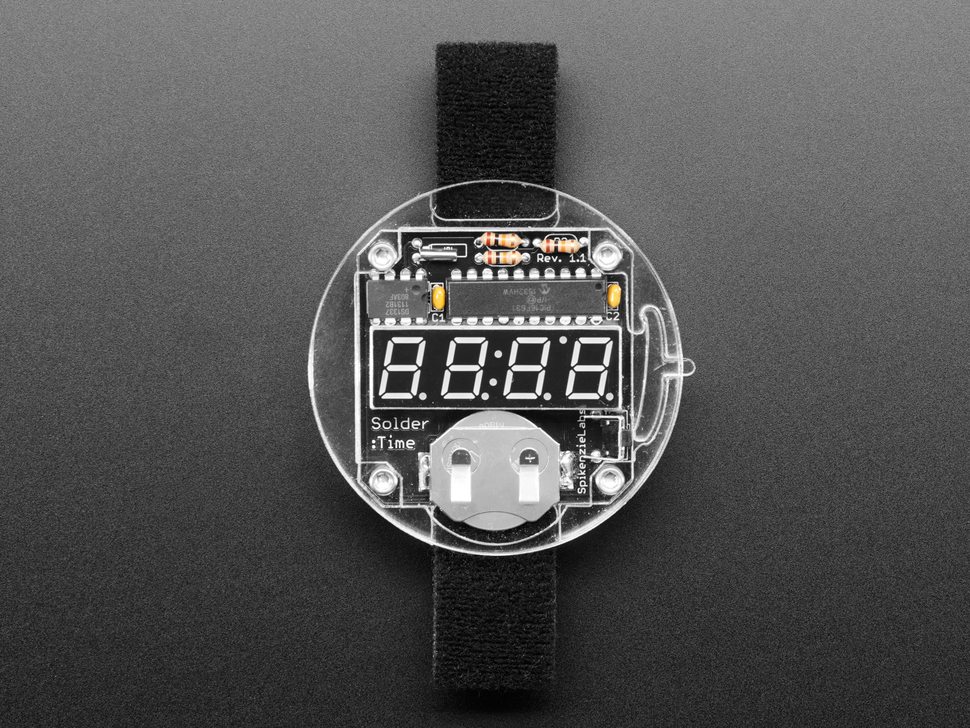 Solder:Time DIY watch kit