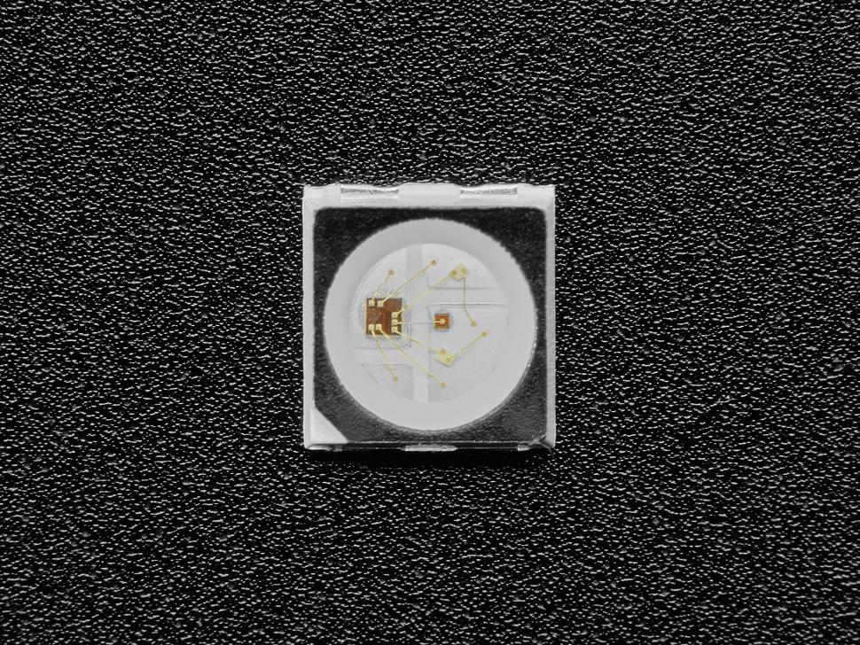 Top view of single mini 3535 LED.