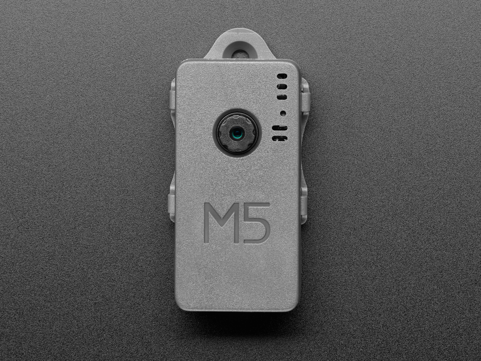 Top view of M5Stack camera.