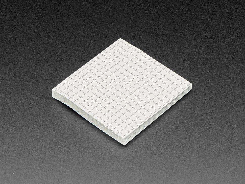 Gridded Sticky Notepad