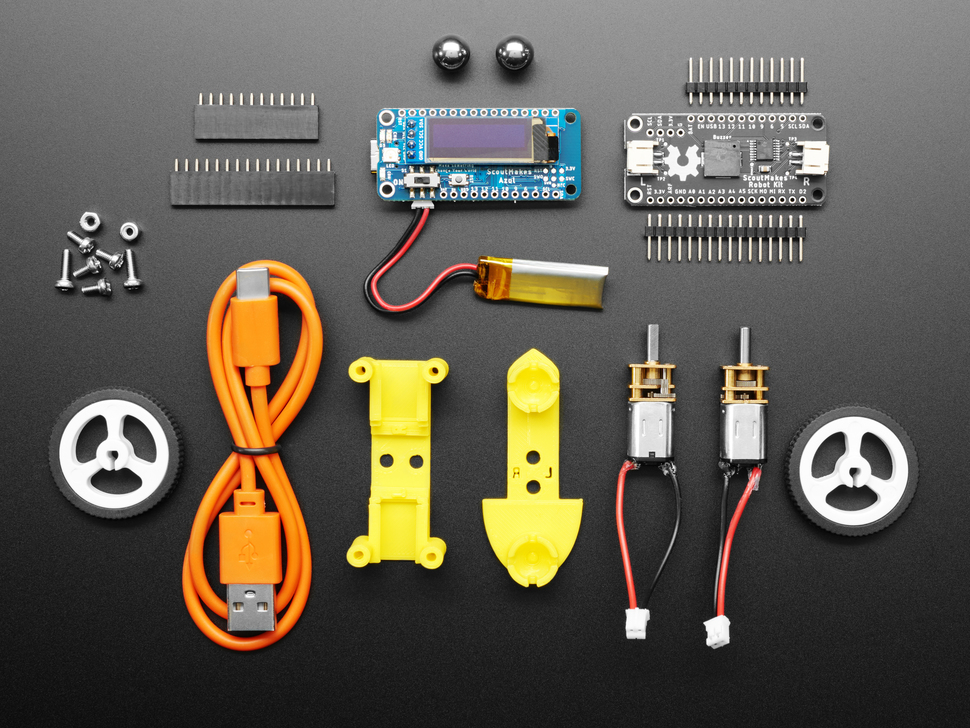 Robot kit contents