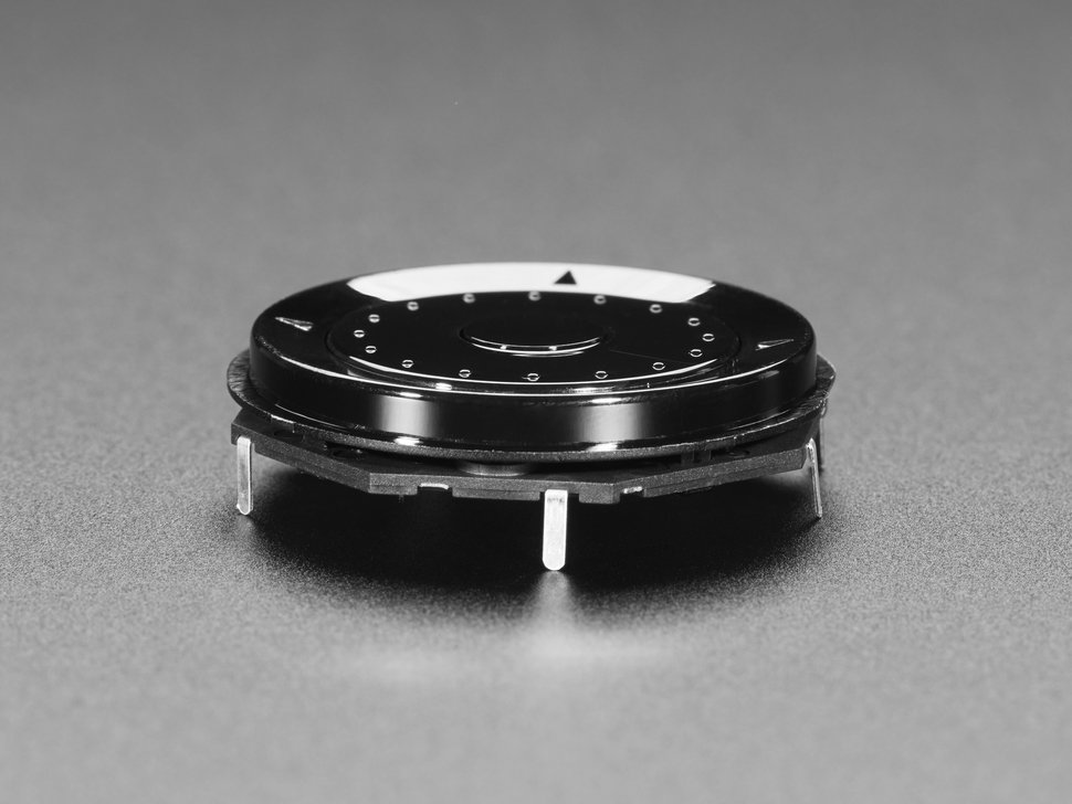 Side detail of ANM rotary encoder..